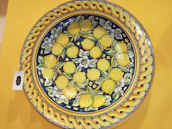 Piatti Ceramica Di Caltagirone.Etnae Retro Rigattiere Ceramiche